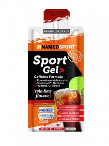 NAMEDSPORT Sport gel 25ml cola limonka