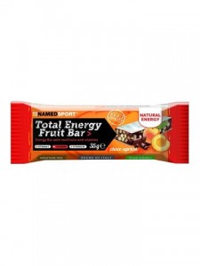 NAMEDSPORT Total Energy Fruit Bar 35g morela czekolada