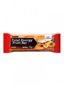 NAMEDSPORT Total Energy Fruit Bar 35g żółte owoce