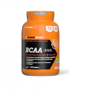NAMEDSPORT BCAA 2-1-1 100 tabletek