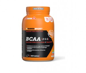 NAMEDSPORT BCAA 2-1-1 300 tabletek